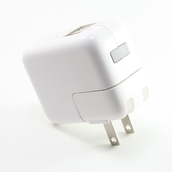 New Dual 2-Port USB Plug Charger Adapter for Apple iPod iPhone iPad White