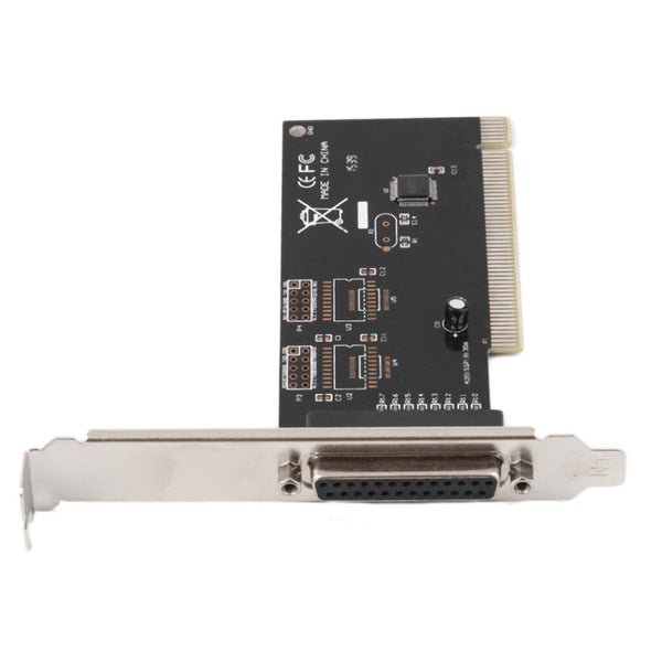 DB25 25 Pin Parallel PCI IEEE 1284 Printer Adapter Controller Card New