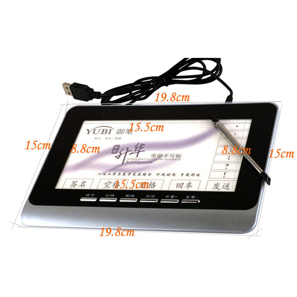 axGear Chinese English Hand Writing Tablet Pen Handwriter Pad