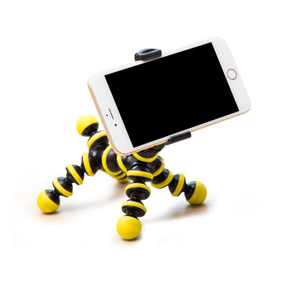 Universal Portable Adjustable Clip Mount Holder Stand For Mobile Cell Phone Pad
