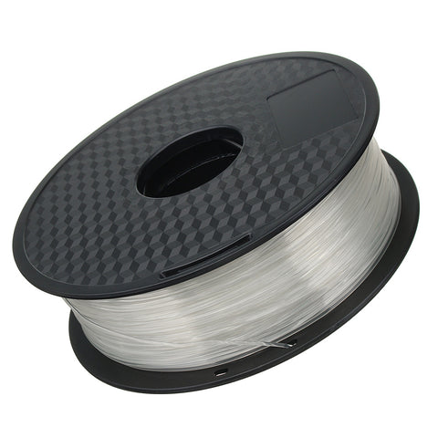 3D Printer PLA Filament 1.75mm 1KG 2.2LB Premium Material Spool Roll Transparent