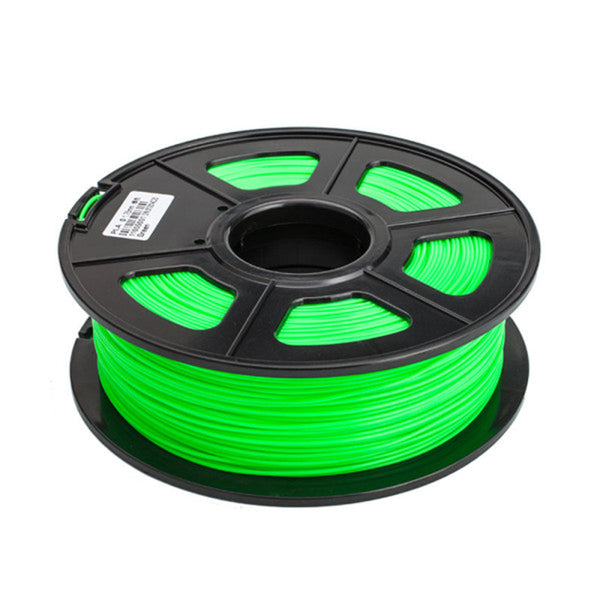 axGear 3D Printer PLA Filament 1.75mm 1KG 2.2LB Premium Material Spool Roll Green