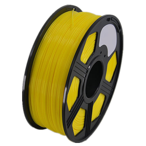 3D Printer PLA Filament 1.75mm 1KG 2.2LB Premium Material Spool Roll Yellow