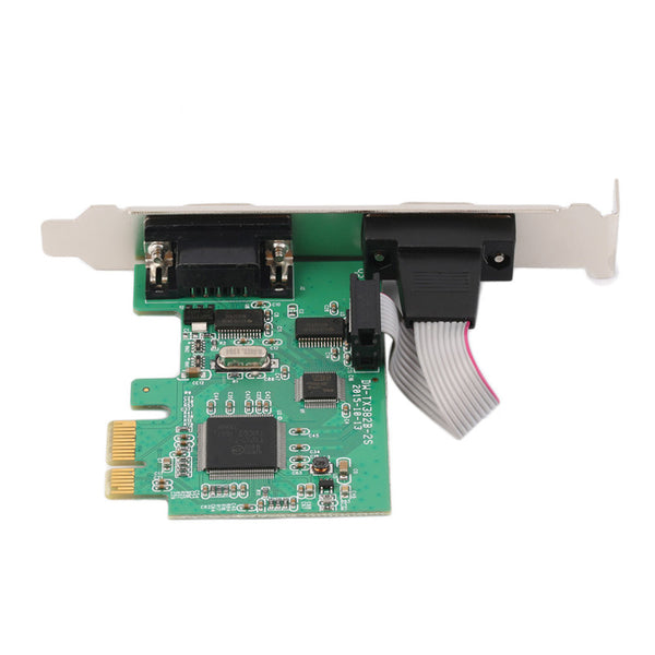Brand New PCI-E PCI Express 9pin Serial RS232 Com Controller Adapter Card
