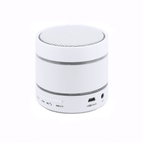 axGear Wireless Speaker Portable Music MP3 Player FM Radio USB Micro SD Player Bluetooth Handsfree w/LED