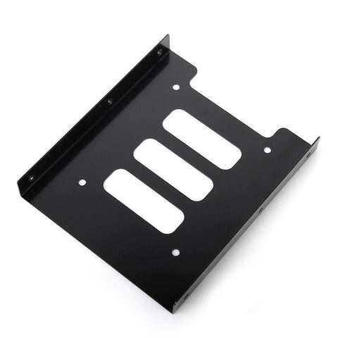 Brand New 2.5 to 3.5 inch SSD SATA Hard Disk Drive HDD Adapter Metal Tray Dock