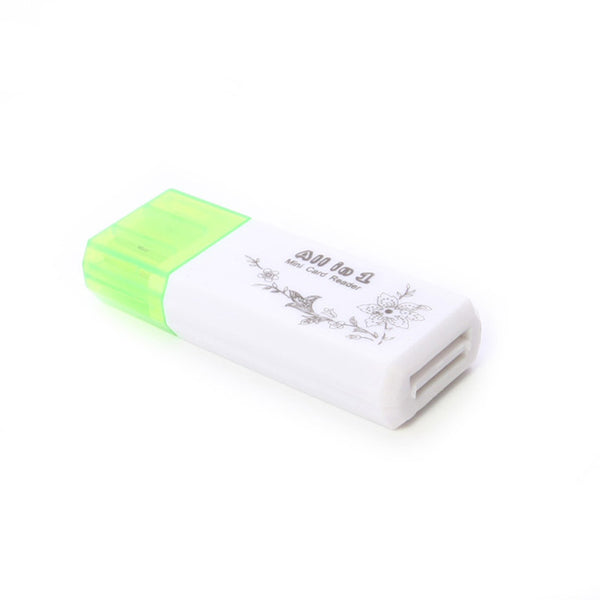 axGear USB 2.0 Memory Card Reader High Speed For Micro SD MS SDHC Multifunction External