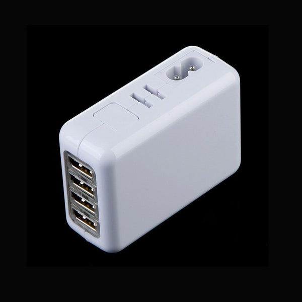 USB AC Charger 4 Port