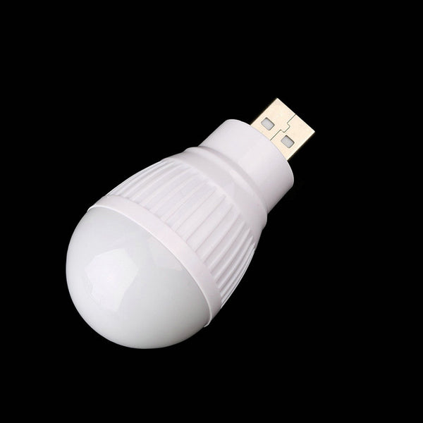 Mini USB LED Light Bulb For Laptop Computer PC Desk Reading