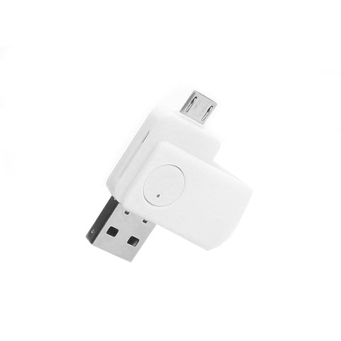 axGear USB MicroUSB 2 In 1 Card Reader OTG Adapter for Micro SD TF Memory Card for Android Phone Tablet PC