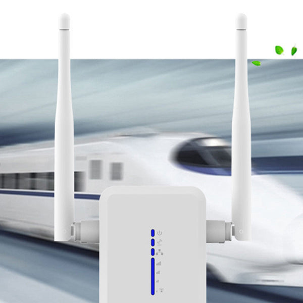 axGear Dual Band WiFi Signal Repeater Wireless Network Extender 750Mbps 2.4G 5.8G Dual Antenna