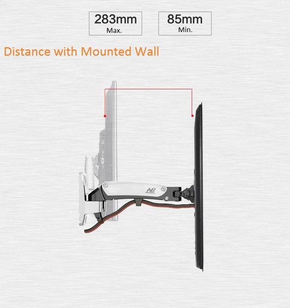 F120 LCD LED Flat Panel Wall Mount Holder