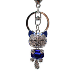 Cat Key Ring With Purse Holder