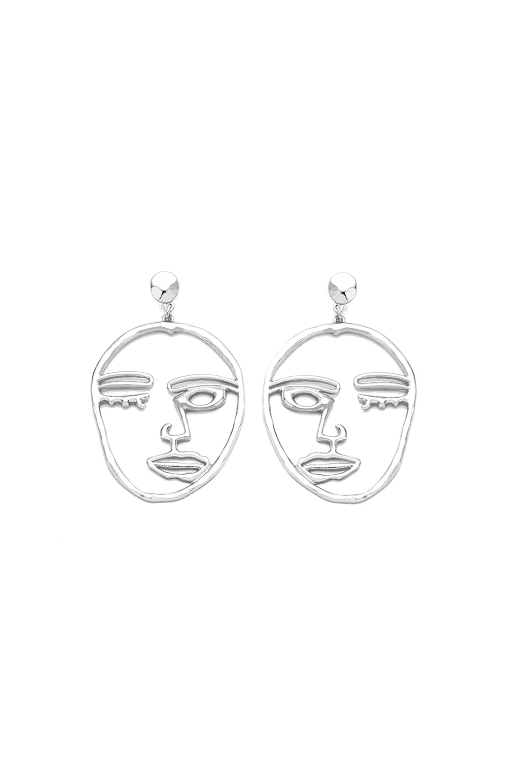 Surrealism Earrings | Silver