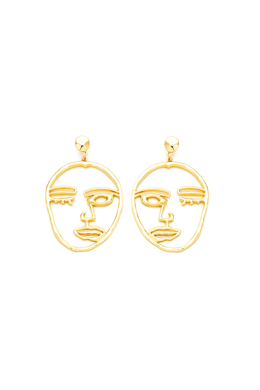 Surrealism Earrings | Gold
