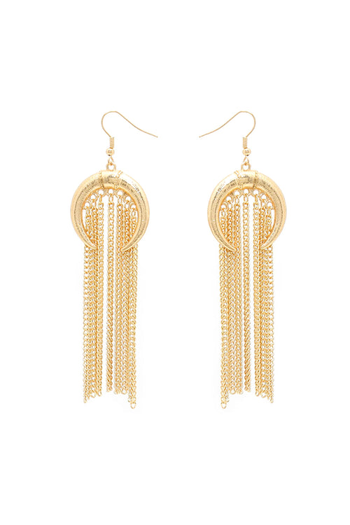 Adroit Earrings | Gold