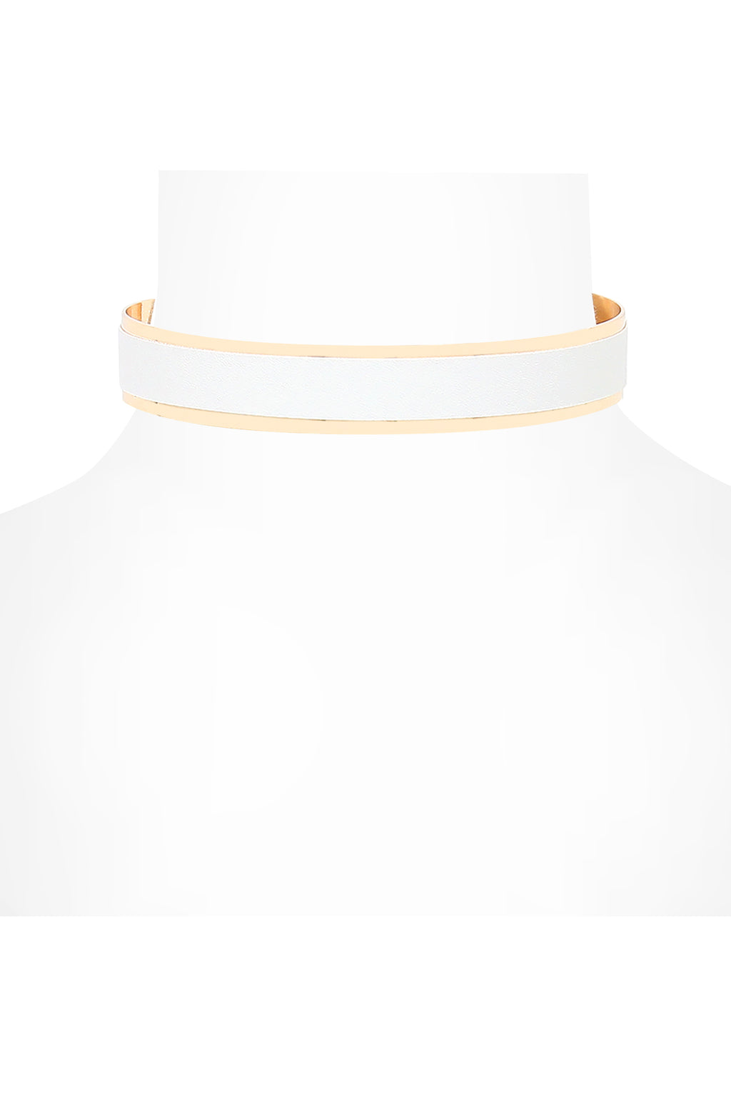 Cino Choker | White Gold
