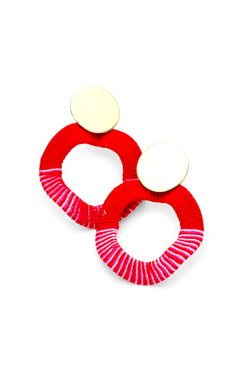 Life Saver Earrings | Red