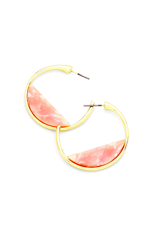 Amatory Earrings | Dusty Pink