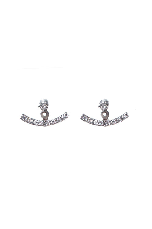 Anchor Earrings | Silver