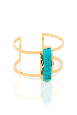 Isidore Cuff Turquoise