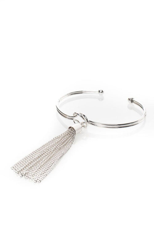 Alysída Bangle | Silver