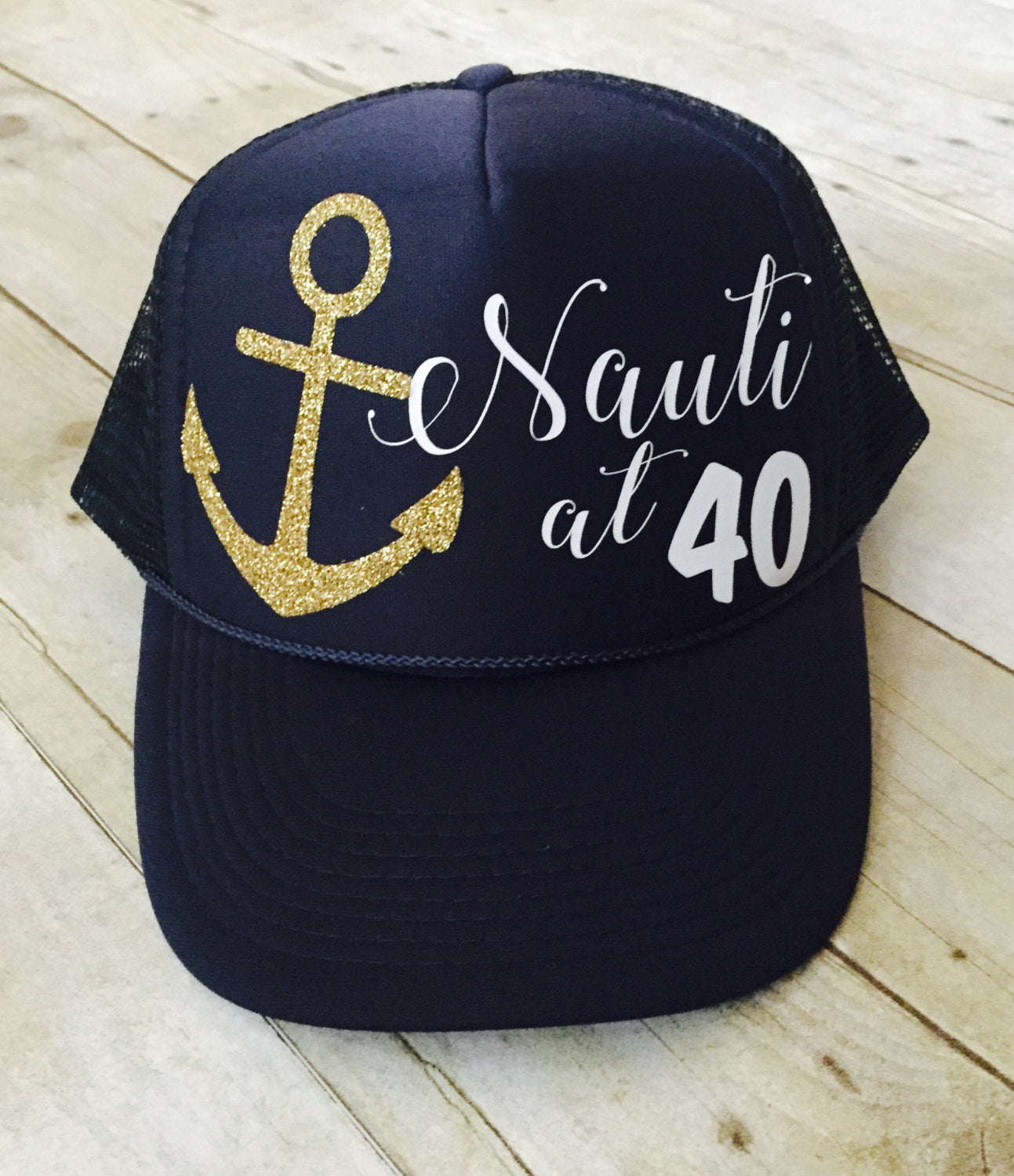 Nauti At 40 Trucker Hat