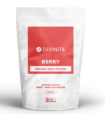 Berry Organic Whey Protein