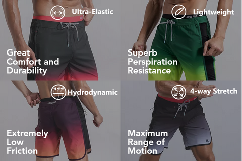 board shorts function and features