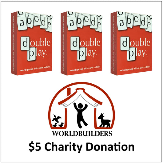 3 boxes of Double Play Cards for $25 including $5 Charity Donation