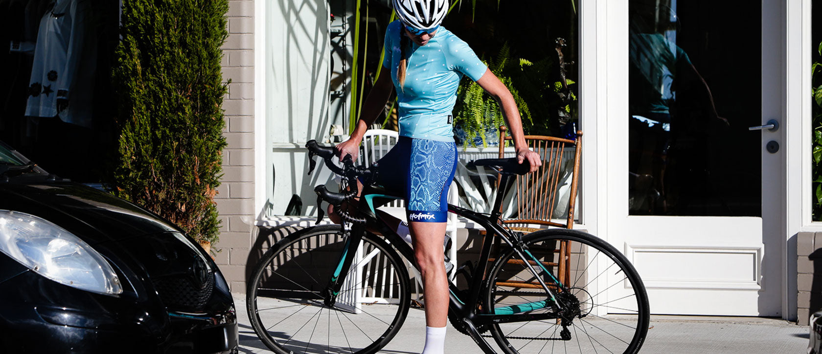 New arrival women's cycling kit.