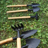 3pcs Mini Shovel Rake Garden Plant Tool For Bonsai