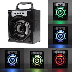 Leegoal Mini Bluetooth LED Backlight Speaker