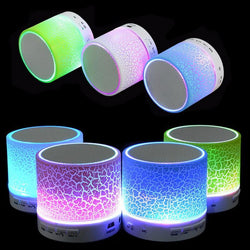 Portable LED Bluetooth Earthshaker Speakers