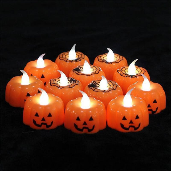 Classic Pumpkin LED Candle Light