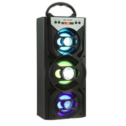 Tri-Color Portable Bluetooth Bass Loudspeaker