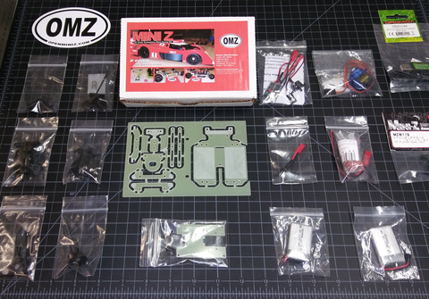 OMZ-R02 (Kit) Radio Controlled  Car Kit with Electronics