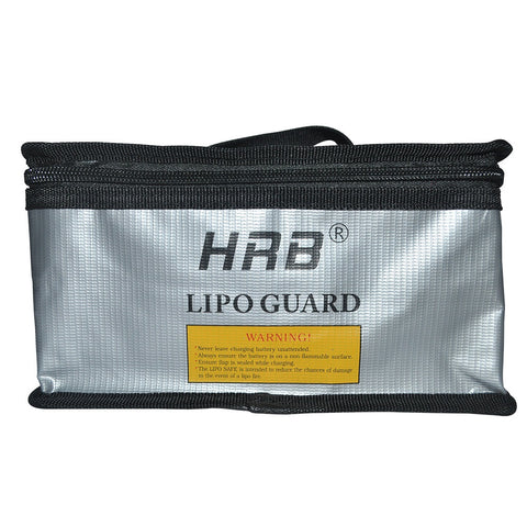 HRB 215x155x115mm Fireproof Rc LiPo Battery Portable Explosion-Proof Safety Bag Safe Guard Charge Sack