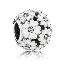 11 Style Original 925 Sterling Silver World,Daisy,Family,Heart Clear CZ Beads Charm Fit Pandora Bracelet Bangle Jewelry Making