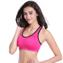 Sports Bra For Workout Padded Wire Shakeproof Underwear Push Up Seamless Fitness Top Bras For