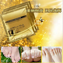 2Pcs Baby Foot Peeling Real Mask Remove Dead Skin Cuticle Heel Anti Aging