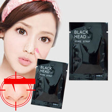 7pcslot Face Care Nose Pore Mineral Mud Membranes Clay Mask Strips Cleaner Nose Blackhead Acne Remover