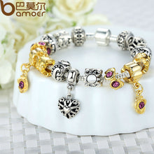925 Silver Charm Bracelets With Murano Glass Beads for Women DIY Jewelry A1425