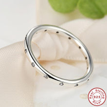 925 Sterling Silver Droplets Stackable Finger Ring for Women Wedding Original Compatible with VRC Jewelry A7132