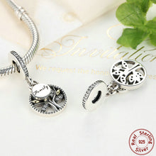 925 Sterling Silver Family Tree Fit Pandora Bracelet Jewelry