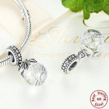 925 Sterling Silver Morning Butterfly, Pink & Clear CZ Pendant Charms Fit Original Pandora Bracelet Necklace Jewelry S258