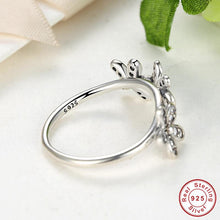 Authentic 925 Sterling Silver Dazzling Daisies Stackable Ring Clear CZ Flower Compatible with VRC Jewelry  A7126