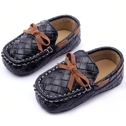 Baby Toddler Girls Boys Loafers Soft Faux Leather Flat Slip-on Crib Shoes 0-12M