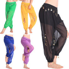 Belly Dance Costume Shinny Cion Sequin Balloon Bloomers trousers Harem Pants