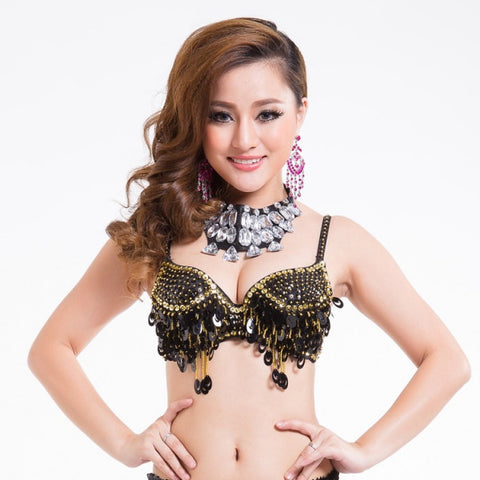 Belly Dance  Belly Dancing Costume For  Sexy Bra Top Clothes Dancing